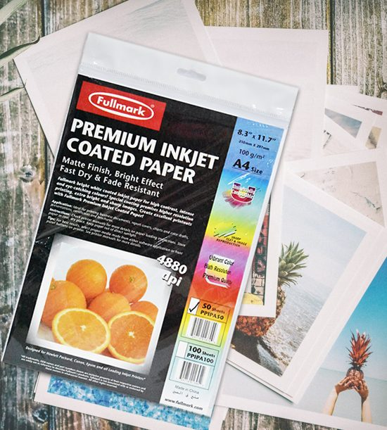 fullmark premium inkjet coated paper