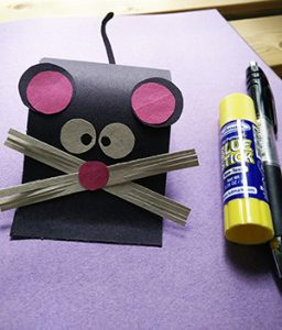 paper mouse craft